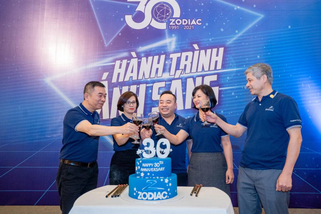 Kỷ niệm 30 năm thành lập Zodiac
