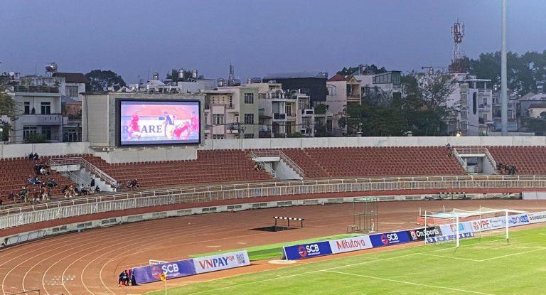 Zodiac tư vấn và cung cấp giải pháp màn hình Led cho sân vận động Thống Nhất