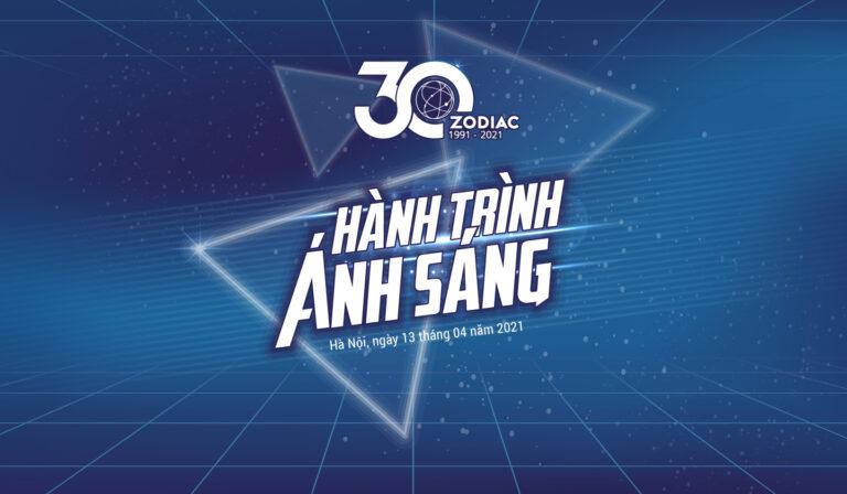 Celebrating Zodiac's 30th anniversary