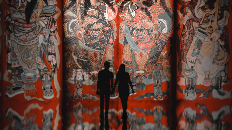 Trải nghiệm nghệ thuật kết hợp công nghệ