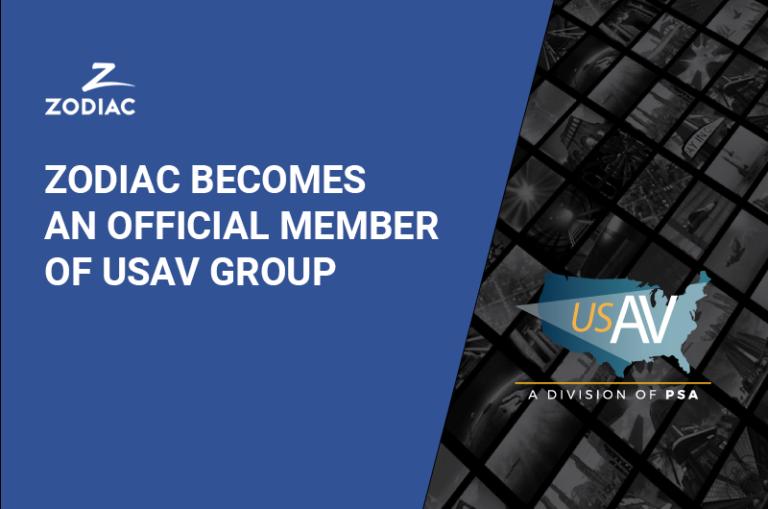 Zodiac becomes an official member of USAV Group